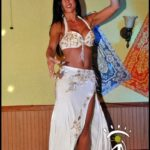 Belly Dancer in White