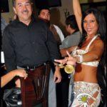 Belly Dancer at a Celebration