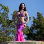 NJ Belly Dancer Sasha Outdoors